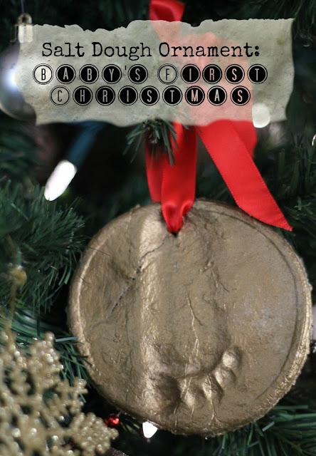 salt dough ornament