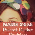 Mardi Gras Feather