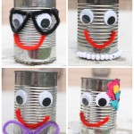 tin can collage