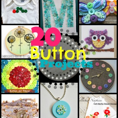 20 Creative Button Projects