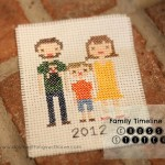 family cross stitch 2012