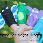 felt finger puppets