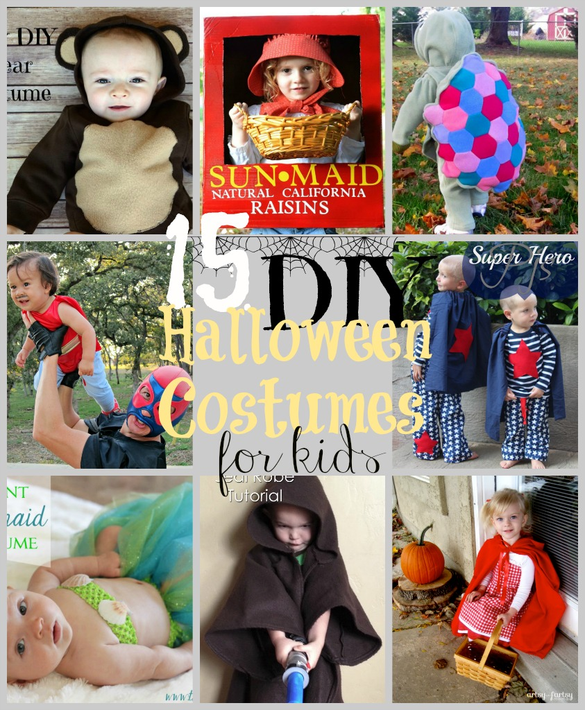 15 DIY Halloween Costumes for Kids – Do Small Things with Love