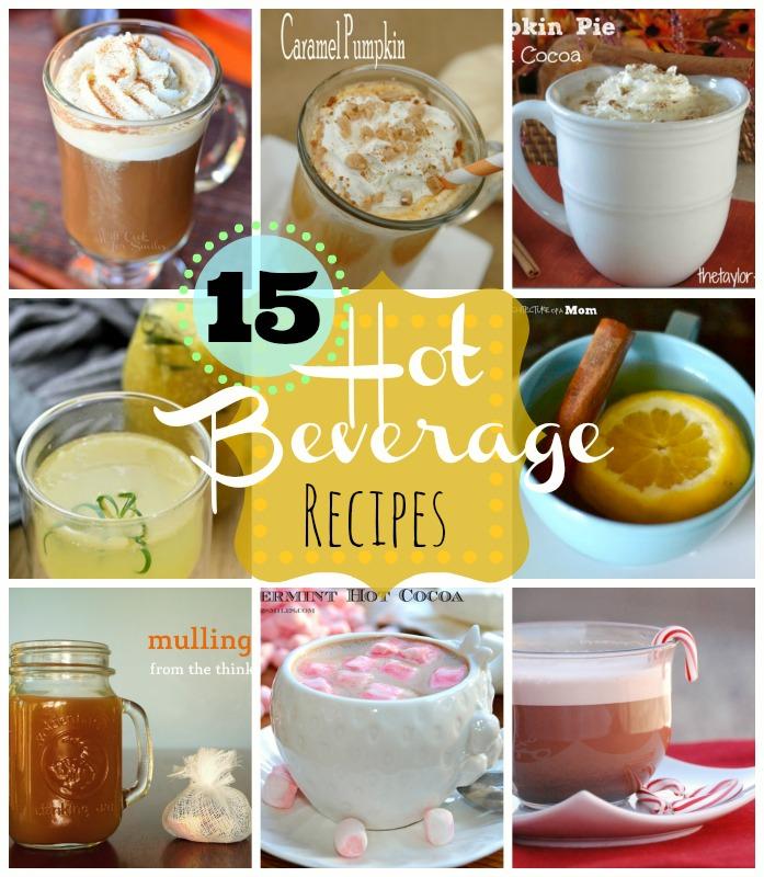 15 hot beverage recipes