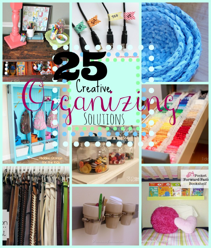 25 creative organization solutions do small things with for Creative organization
