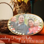 embroidery hoop photo