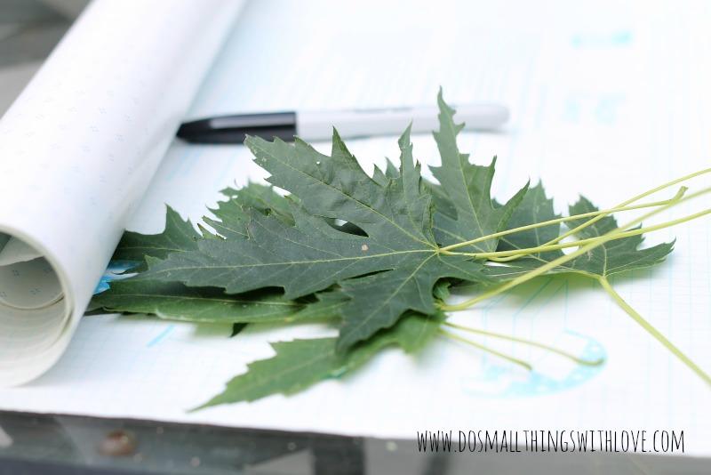 leaf stencil 1