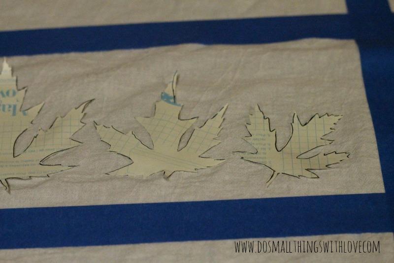 leaf stencil 4