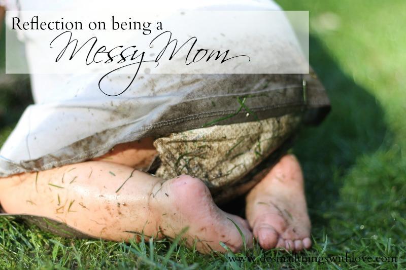 messy mom