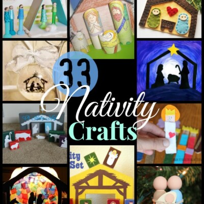 33 Nativity Crafts for Christmas