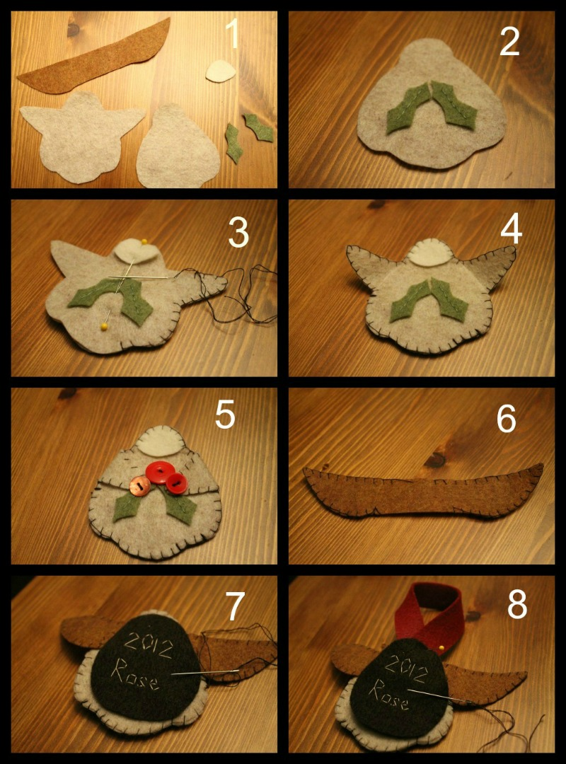 Felt angel ornament free template do small things with for Angel decoration template