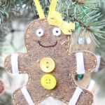 gingerbread Christmas ornament 4