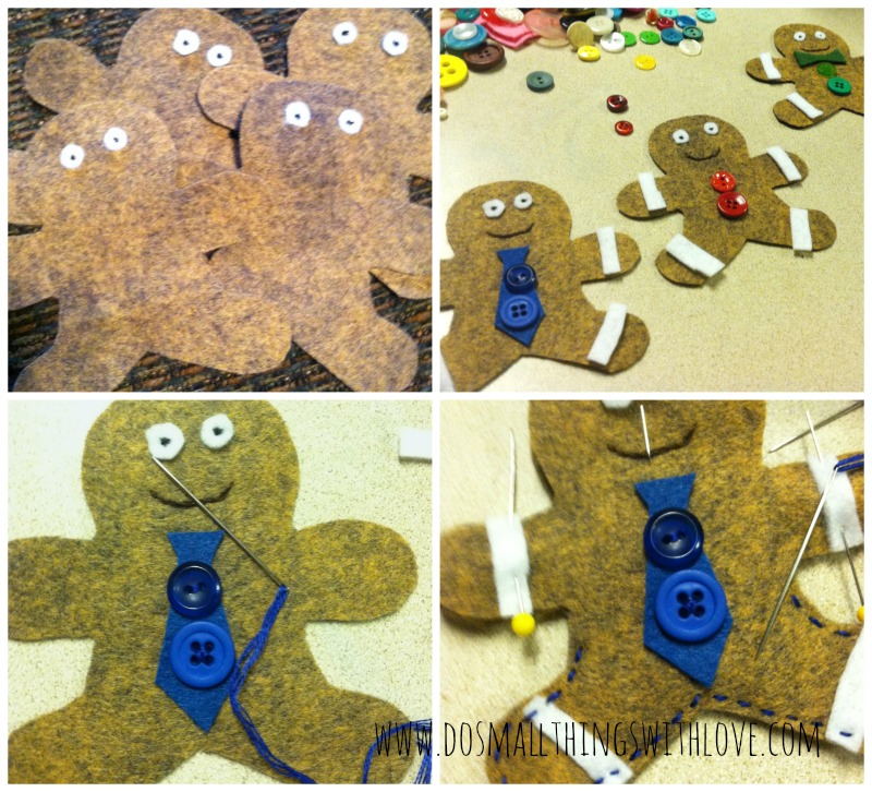 gingerbread christmas ornaments how to
