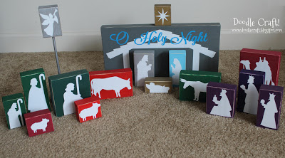 33 nativity crafts for christmas do small things with great love nativity set solutioingenieria Image collections