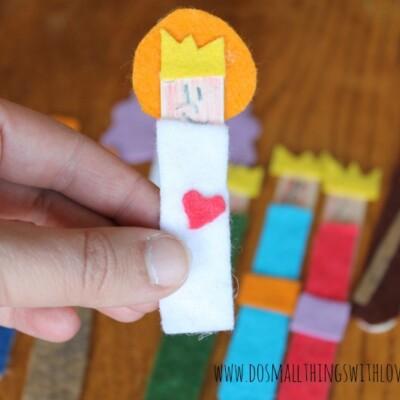 Felt and Popsicle Stick Nativity Set