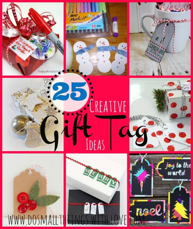25 creative gift tag ideas