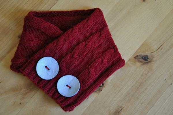 Что можно сделать из старых шарфов своими руками