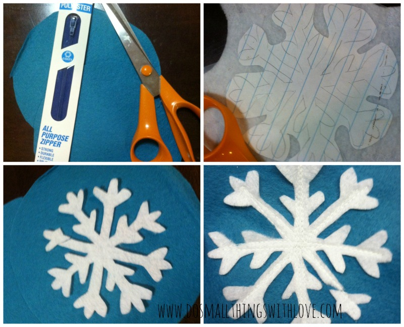 snow flake directions 1