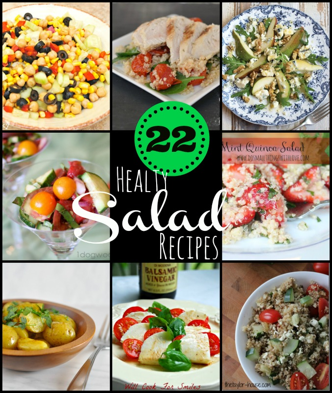 22 Healthy Salad Recipes