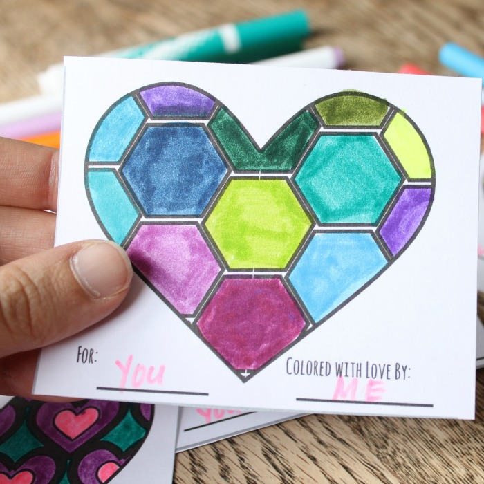 free printable valentines to color cg