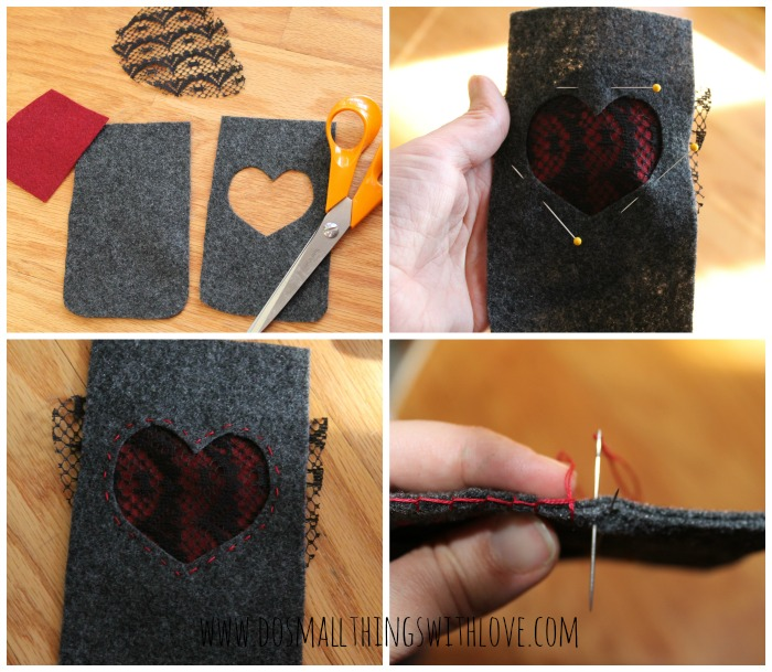 simple felt iphone case how to