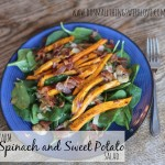spinach and sweet potato salad 1