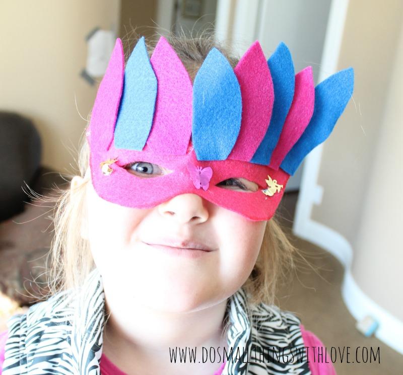 Mardi Gras Masks Mary