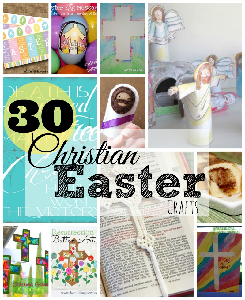 30 christian easter crafts do small things with great love 30 christian easter crafts negle Gallery