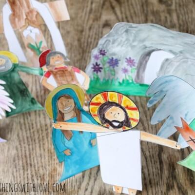 Easter Resurrection Set {Free Printable}