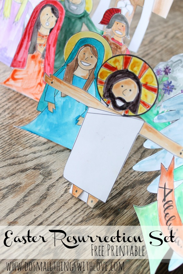 Easter Resurrection Set Free Printable from www.dosmalltingswithlove.com