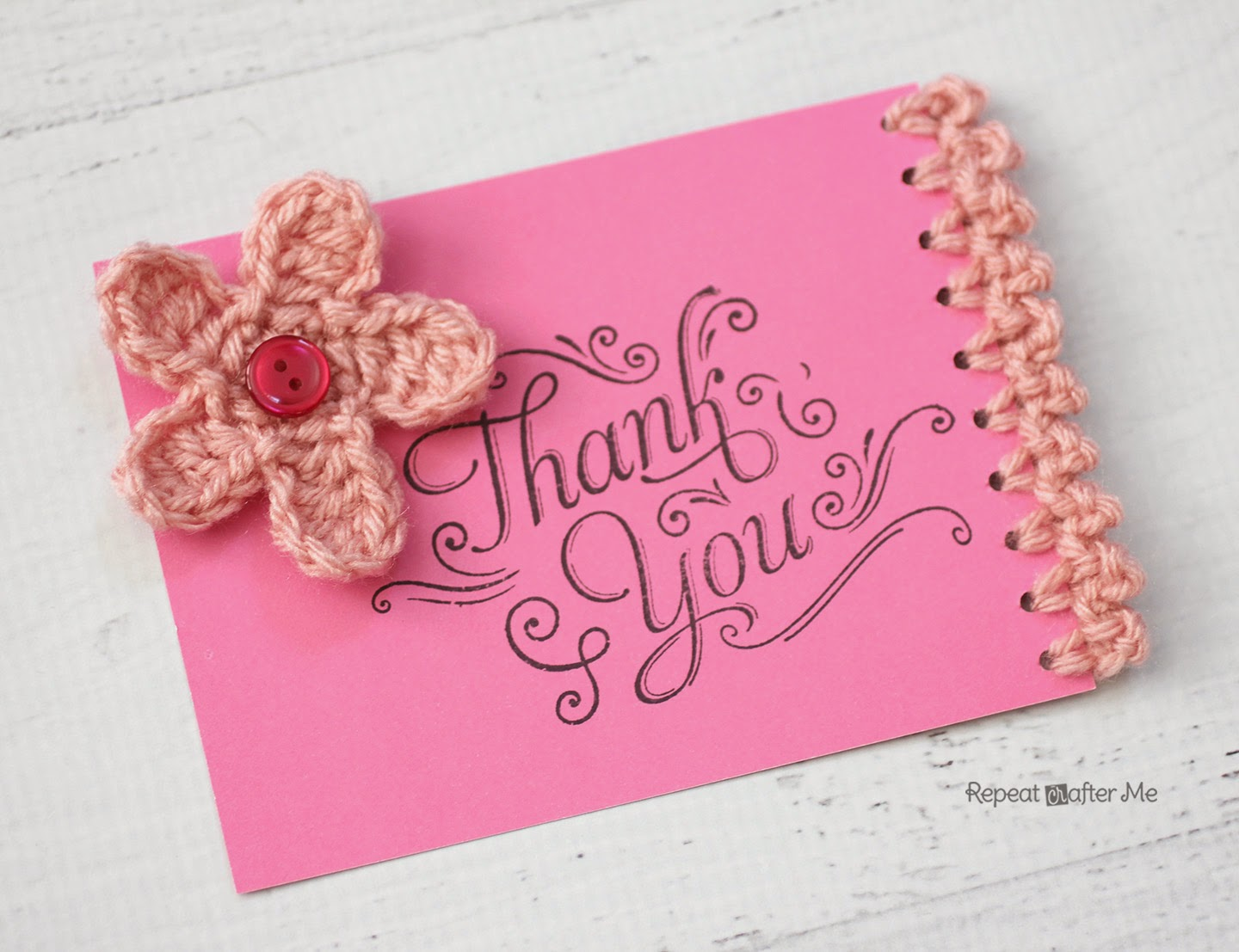 50 handmade cards do small things with great love thankyoucard1 kristyandbryce Images