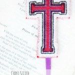 cross stitch bible bookmark with free pattern from www.dosmallthingswithlove.com
