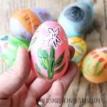 religious painted plastic easter eggs tutorial