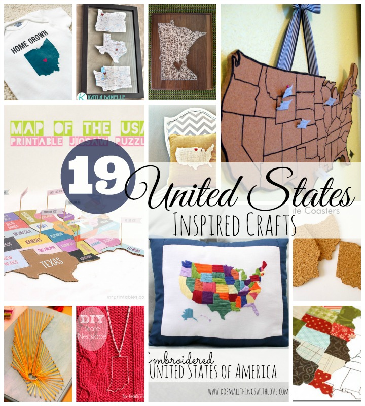 19 United States inspired crafts