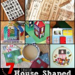 7 creative House-shaped Crafts