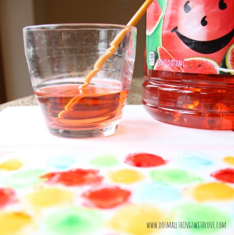 #ad Kool-Aid Watercolor Ideas #KoolOff