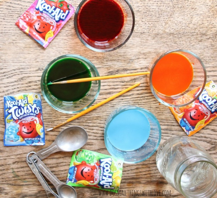 #ad Kool-Aid Watercolor Recipe