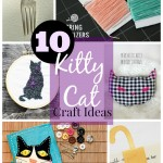 10 kitty cat craft ideas