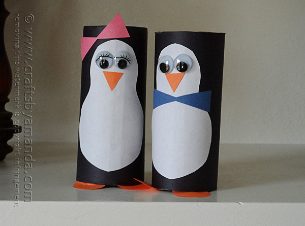 cardboard-penguins