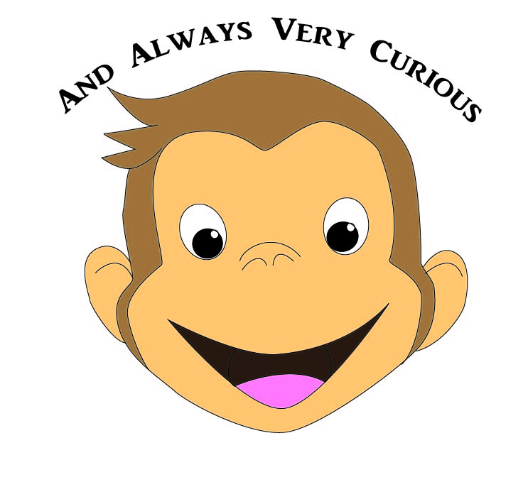 curious george embroider pattern