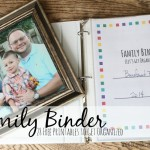 family binder 28 free printables to get organized