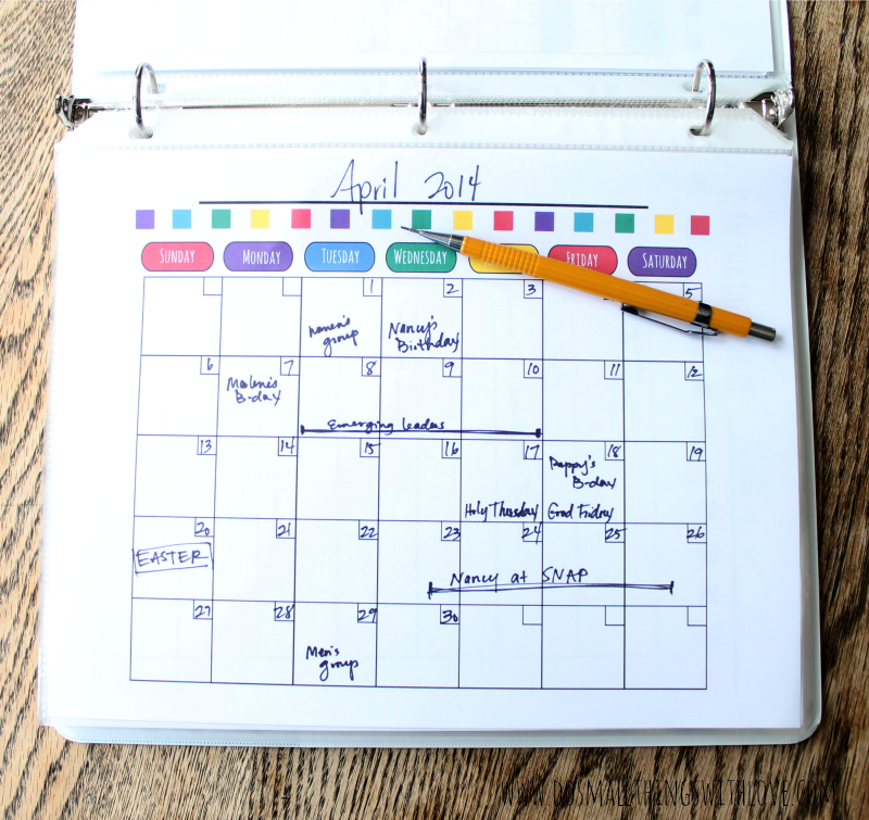 png 909kB, Budget Month At A Glance Printable | Calendar Template 2016 ...