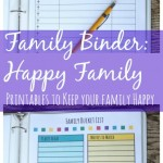 free family binder happy family printables