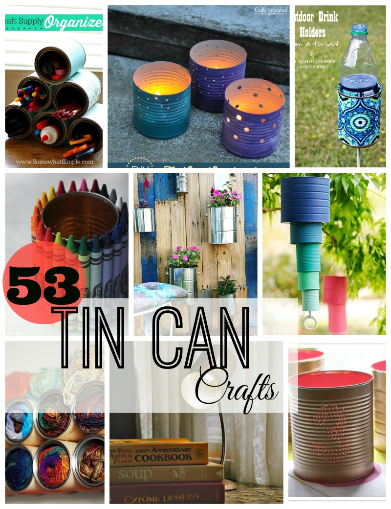 craft ideas with cans 53 tin can crafts do small things with great 3966