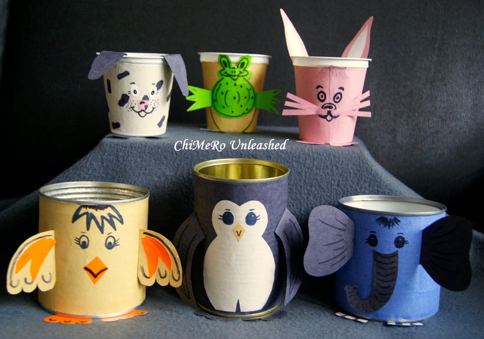 53 tin can crafts do small things with great love for Usable things made from recycled materials