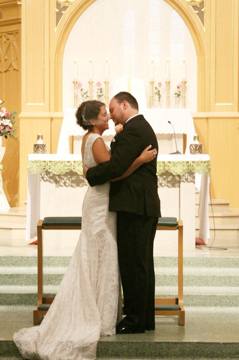 Nancy and Bill wedding