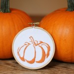 pumpkin embroidery cg