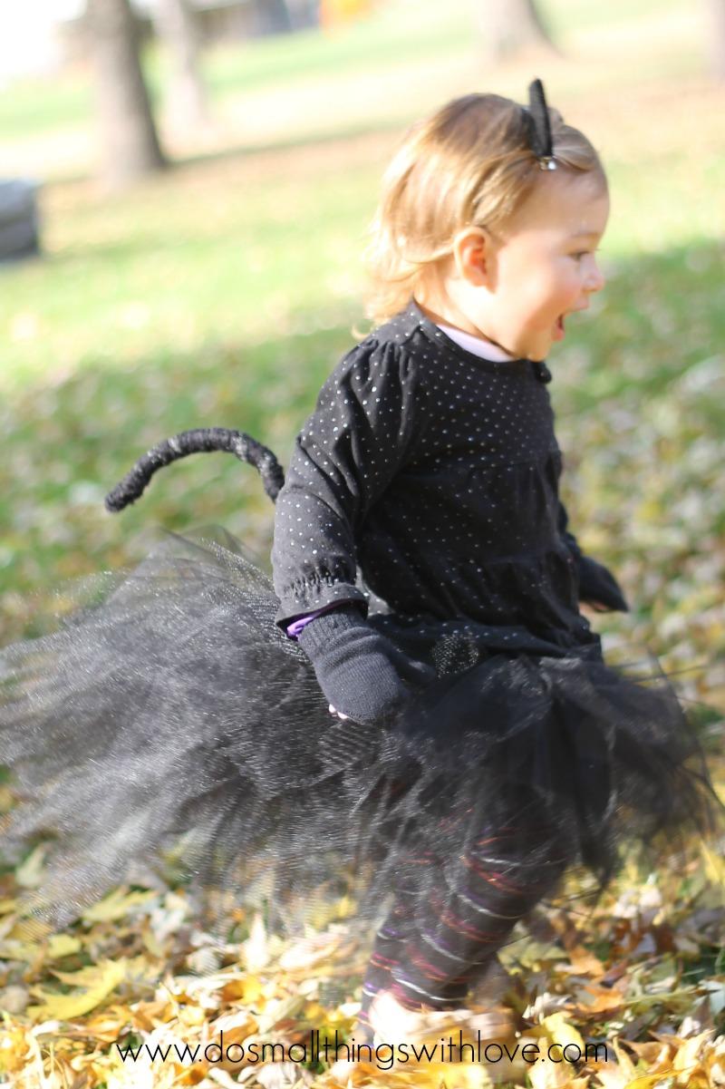 black cat cute halloween costume