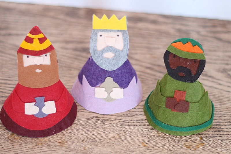 kid's nativity kings