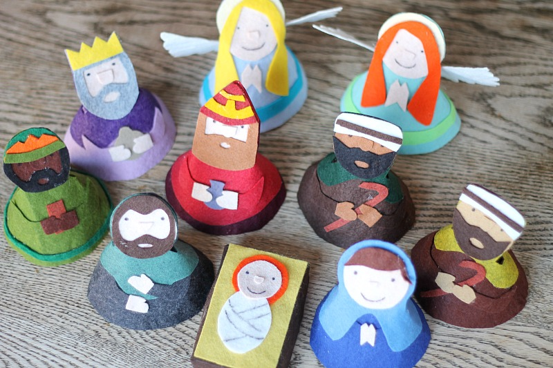 33 nativity crafts for christmas do small things with great love 33 nativity crafts for christmas solutioingenieria Image collections